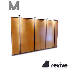 Möller Design Wood Wardrobe Braun Incl. Lighting Wall Unit