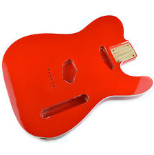 Dakota Red Body for telecaster, American Ash, With Cream Binding