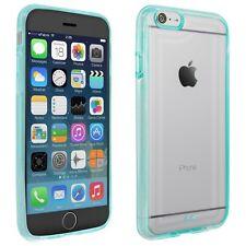 Case für Apple iPhone 6 Tasche Schutz Cover Handy Bumper transparent hellblau