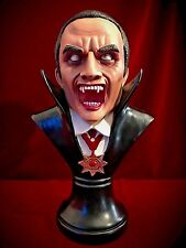 Dracula Vampire Bust Statue Figurine - The Count - Gothic Home Decor Gift