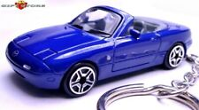 RARE!! KEY CHAIN BLUE MAZDA MIATA MX5 MX 5 M E/S FAST NEW LIMITED EDITION CUSTOM