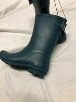 a.n.d  A New Day Women's Samantha Mid Calf Rain Boots Turquoise Size 8