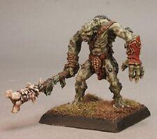 River Troll Reaper Miniatures Warlord Reptus Monster Mace Club Melee RPG