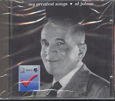 AL JOLSON - MY GREATEST SONGS - CD (NUOVO SIGILLATO)