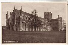 St Albans Abbey - Photo Postcard c1930