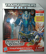 NEW Transformers Prime Robots In Disguise THUNDERTRON Star Seeker Light up Sword