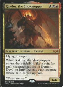 Showstopper Demons Imps Devils (Rakdos):Custom Magic MTG Commander 100 Card Deck