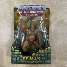 Masters of the Universe Classics MOTUC He-Man Action Figure Unopened