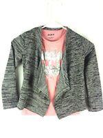NWT DKNY 2pc set 3//4 sleeve shirt GIRL size 18M pink