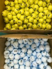 NEW TaylorMade RANGE Golf Balls  Yellow or White - Choose quantity from menu