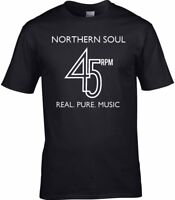 Northern Soul Men's T-Shirt Stax Motown Dance Disco Classic Keep The Faith Vinyl
