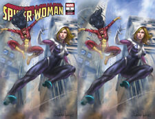 Spider-Woman 5 Marvel 2020 Lucio Parrillo Spider-Gwen Trade Virgin Set Variant