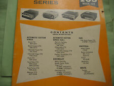 SAMS AUTO RADIO MANUAL(AR 165 FIRST EDITION PRINTING-MARCH 1974 AND EXTRA