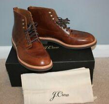 NEW J.Crew Men's Kenton Leather Pacer Boots Burnished Sz 10 Shoes $248 C8867