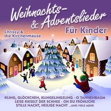 CD Weihnachts und Adventslieder Für Kinder von Chrissy & Die Kirchenmäuse