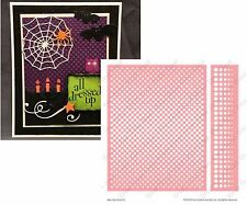 Cuttlebug Embossing Folders Benday Craft Folder Set Polka Dot A2 and Border