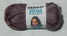 5 Bernat Mega Bulky Yarn in Purple #91334 & Smoke Home