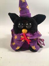 Tiger Furby Orginal Black and Purple Wizard