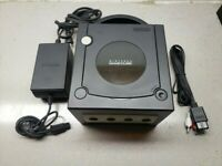 Nintendo GameCube Launch Edition Black Console (NTSC-J) Japanese Fully Tested