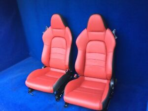 2008 2007 2006 Honda S2000 Show Car Restoration Seats Red Leather