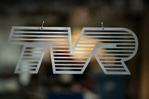 TVR Sign - Stainless Steel, Limited Edition