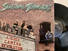 Suicidal Tendencies – Lights Camera Revolution LP 1990 Epic – E 45389 EX/EX