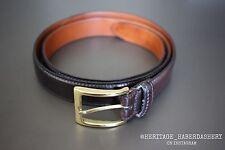 Alden Color #8 Shell Cordovan Belt Sz. 44 $250 Brass Brooks Brothers Horween