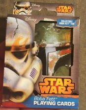 Star Wars Playing Cards BOBA FETT New SEALED Deck W/ COLLECTIBLE TIN, Disney