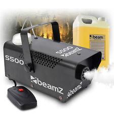 Beamz s500 Remote Control Smoke Machine, 5 Litre Fog Fluid Halloween Theme Party