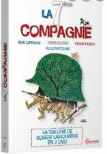 """DVD """"La 7ème compagnie """" La trilogie     NEUF SOUS BLISTER"""