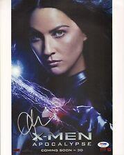 Olivia Munn Signed X-Men 11x14 Photo PSA/DNA COA Psylocke Apocalypse Autograph 1