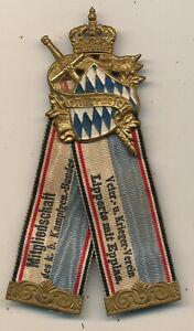 Orden - Bayern Veteranen Krieger-Verein Lipperts Hof mit Epplas -
