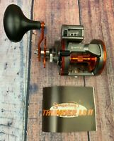 Sougayilang Line Counter Trolling Reel Conventional Level Wind Left Fishing Reel