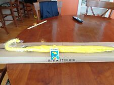 "RainStoppers 48"" Doorman, Matching Hook Umbrella YELLOW - NEW WITH TAGS!!"
