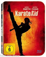 KARATE KID (Jaden Smith, Jackie Chan) Blu-ray Disc, Steelbook (NEU+OVP)