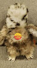 Vintage New With Tags Steiff Owlet Baby Owl Ear Tag 2591/22 NWT