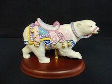 Lenox Carousel Animals Figurine 1991 Polar Bear 73181