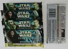 1999 Topps Star Wars Episode I Series 2 Widevision Trading Cards 5 packs