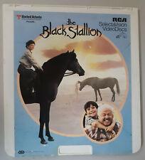 The Black Stallion Kelly Reno, Teri Garr, Rooney CED RCA Selectavision VideoDisc