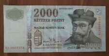 More details for hungary. 2000 forin banknote 2004. cc0569378. see photos.