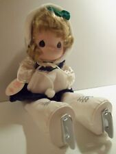 Precious Moments Dated 2000 Jenna Ice Skater with Muff  and Hat has original Tag