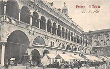 4571) PADOVA IL SALONE E BANCARELLE DEL MERCATO.