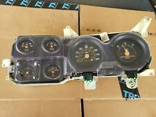 OEM 73-87 Chevy/GMC Truck Suburban Blazer Jimmy Gauge Cluster With Clock