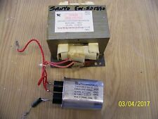 EMERSON EM-S2589S MICROWAVE TRANSFORMER AND CAPASITOR  MD-801AMR-1