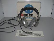 Vintage Pioneer Stereo Headphones Model SE-2P Made In Japan Tested & Working