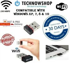 150Mbps Wifi Mini Usb Adapter Wireless Dongle Adaptor 802.11 B G N Lan Network