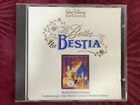 BSO LA BELLA Y LA BESTIA CD B.S.O. WALT DISNEY BEAUTY AND THE BEAST ALAN MENKEN