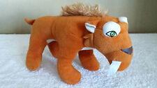 "10"" Diego Sabertooth Tiger, Ice Age, Plush Toy, Stuffed Animal, Disney"