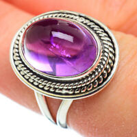 Amethyst 925 Sterling Silver Ring Size 7.75 Ana Co Jewelry R48310F