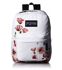 JanSport Superbreak Backpack Multi California Poppy 100% Authentic Book Bag